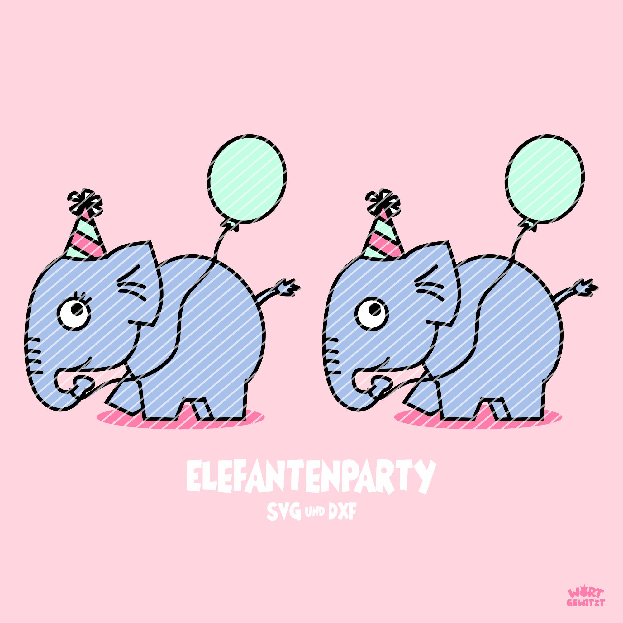Plotterdatei Elefanten
