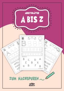 Buchstaben A bis Z lernen