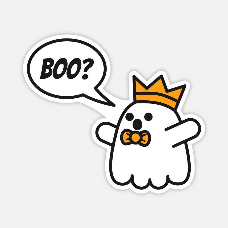 Laptop Sticker Geist Boo