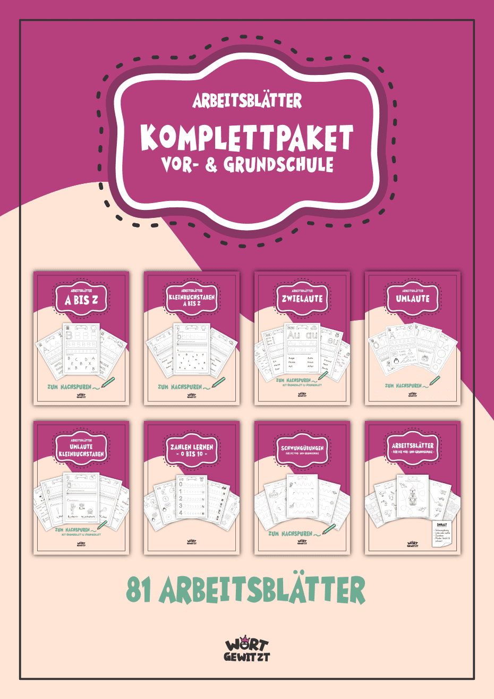 Komplettpaket für die Vor- und Grundschule