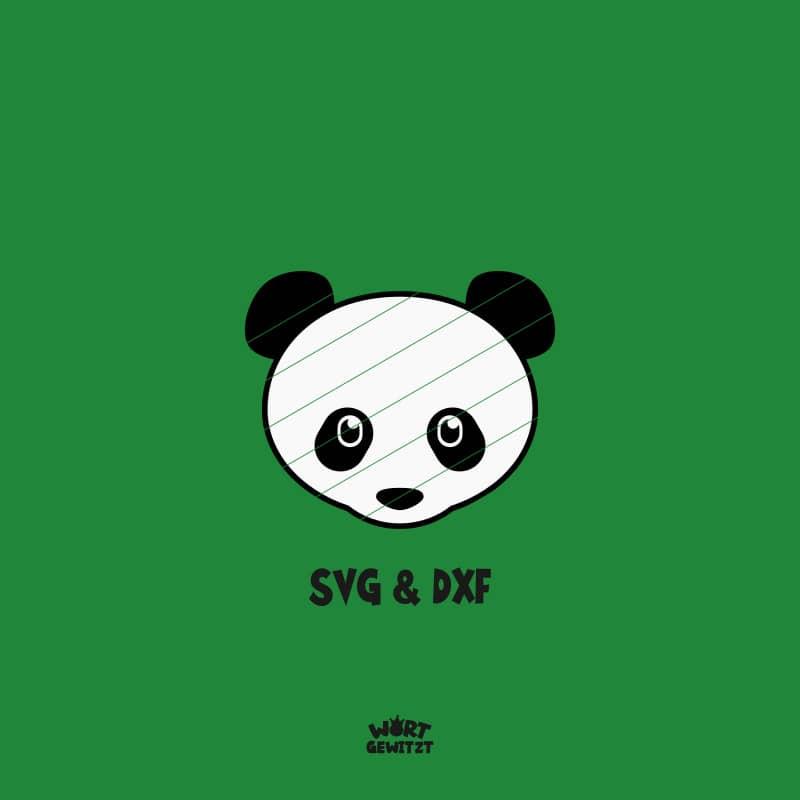 Plotterdatei Panda
