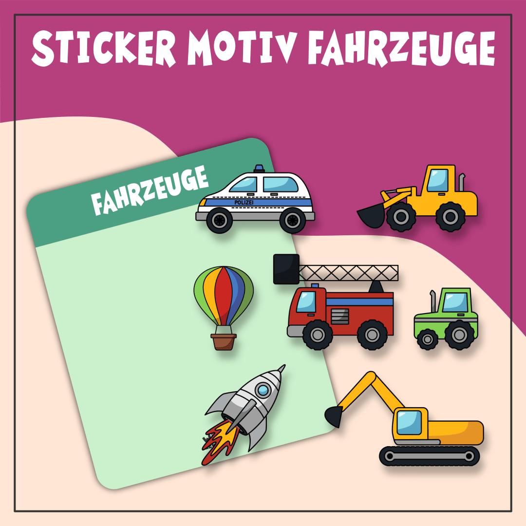 Sticker Motiv Fahrzeuge