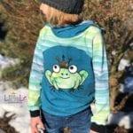 Plotterdatei Froschkönig Beispielbild 3