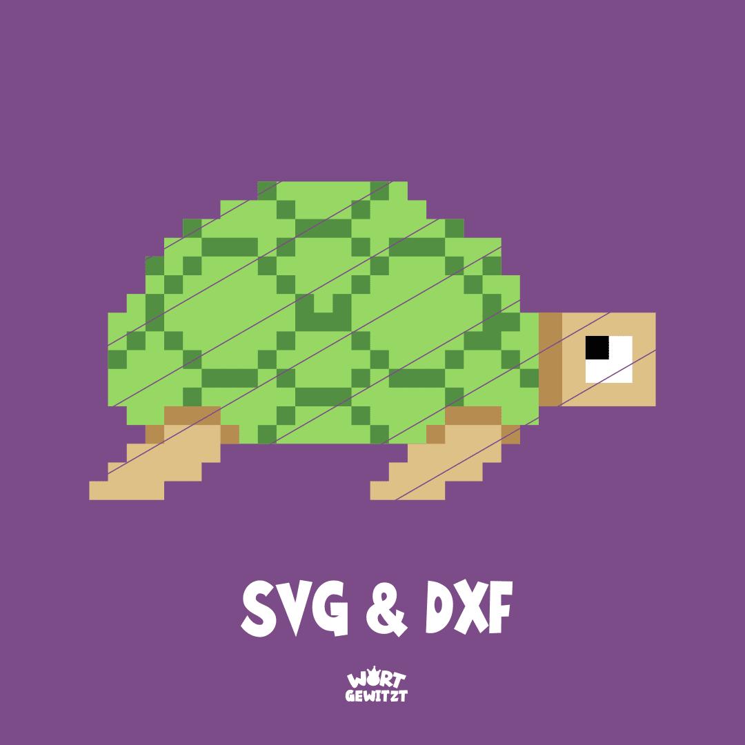 Plotterdatei Schildkröte
