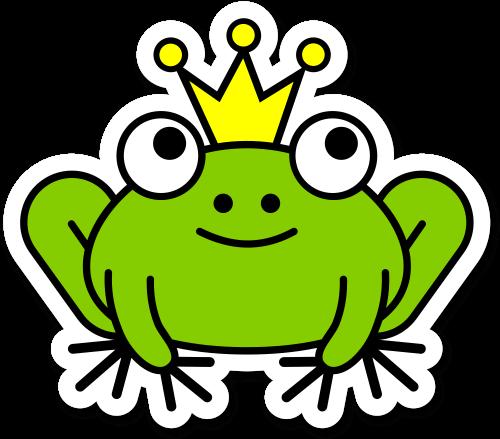 Plotterdateien Header Froschkönig